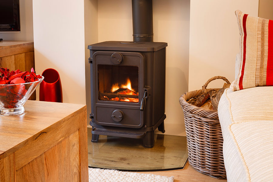 RediFlame Product Fuel Pellets Stove